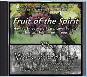 Fruit of Spirit Woks of the Flesh Audio CD