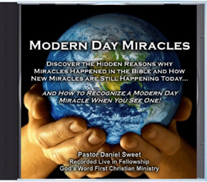 Modern Day Miracles Bible Study Sermon Audio CD