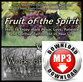 Fruit of the Spirit v.s Works of the Flesh