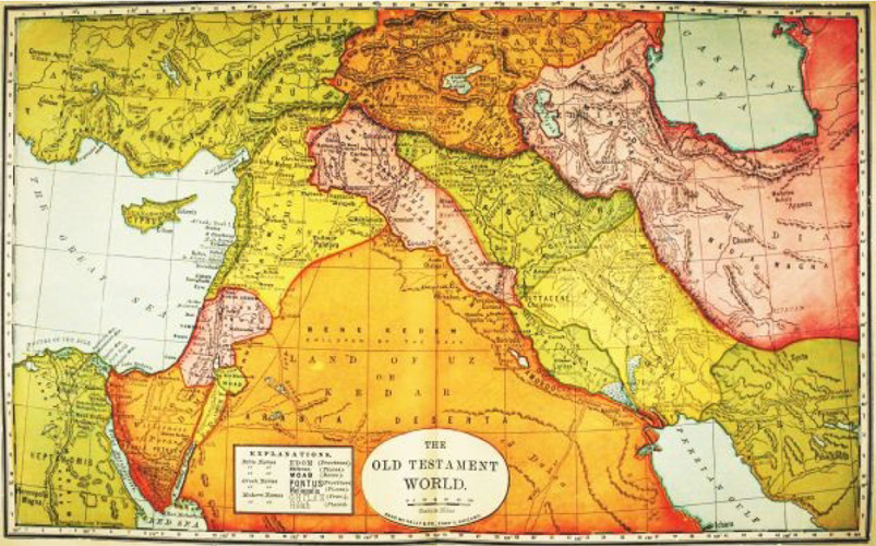 Old Testament World Map
