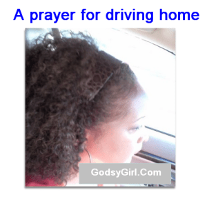 prayer for driving