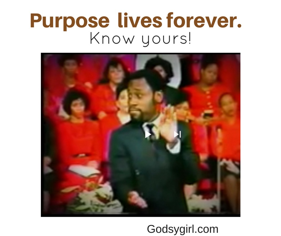 Finding your life purpose...
