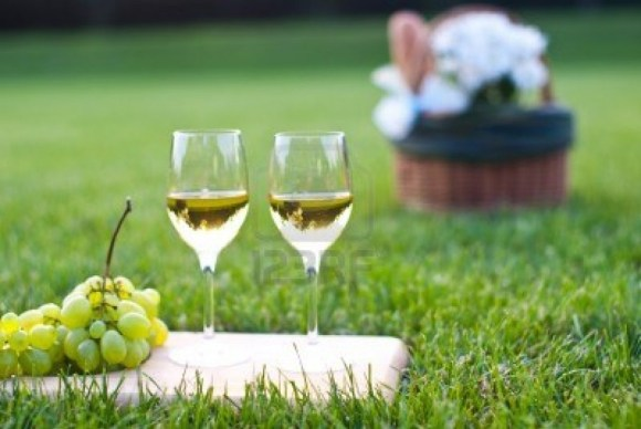 12235980-wite-wine-and-grapes