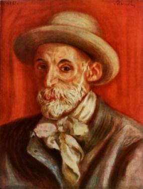 Auguste Renoir. Selv portrett.