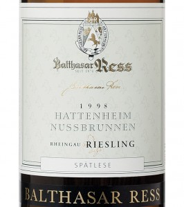 Balthasar-Ress-Riesling-Spatlese-1998-Label