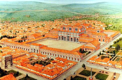 Trier rekonstuert fra Romertiden.