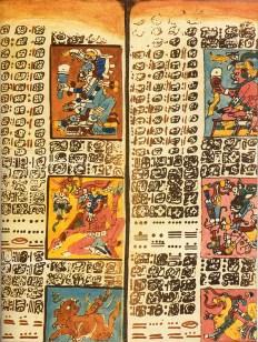 dresden-codex-fragment