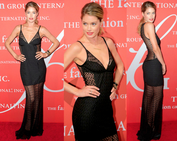 DOUTZEN KROES con vestido de MISSONI - 30TH NIGHT OF STARS GALA