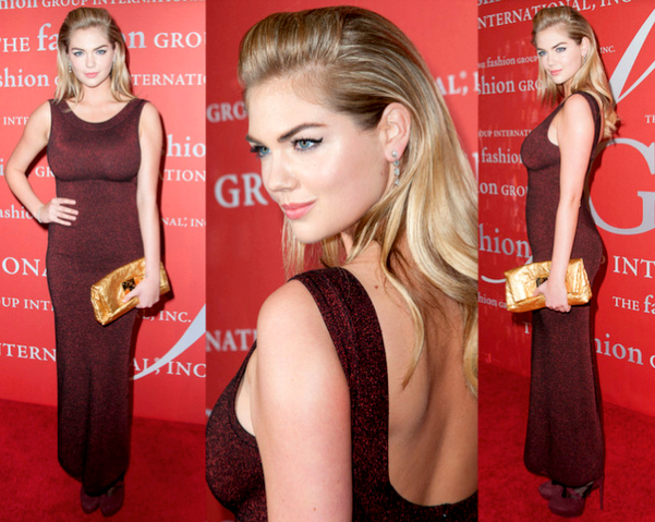 KATE UPTON con vestido de AZZEDINE ALAÏA - 30TH NIGHT OF STARS GALA