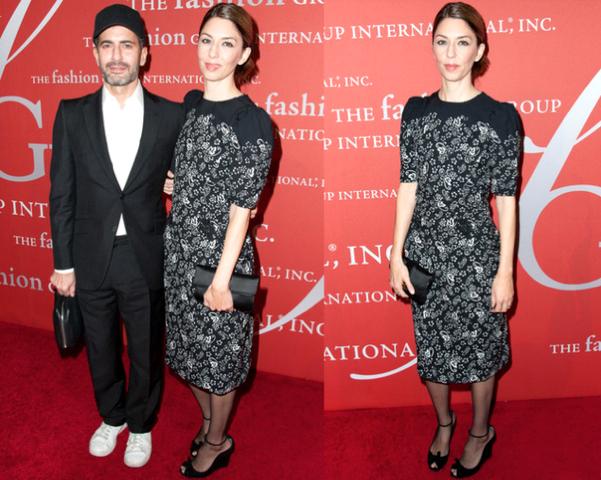 SOFIA COPPOLA con vestido de MARC JACOBS - 30TH NIGHT OF STARS GALA