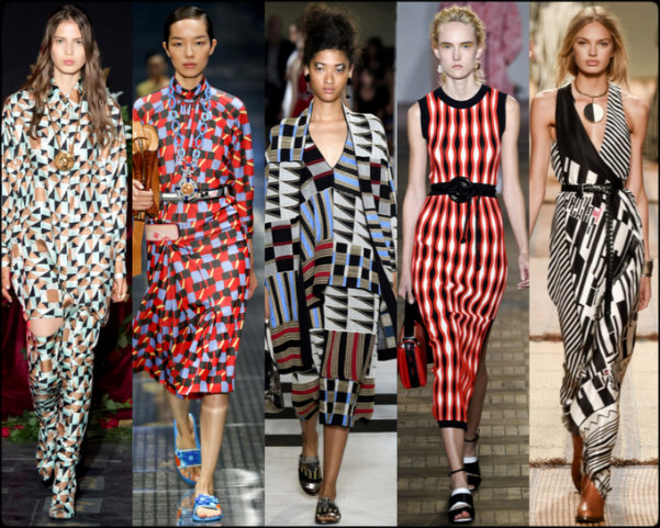 geometric prints, tendencias primavera-verano 2017, tendencias, tendencias milan fashion week, milan fashion week, trends spring 2017, trends milan fashion week, trends