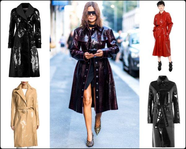 shopping, vinyl trenchs, trenchs charol, fashion weeks, charol, vinyl, isabel marant, isabel marant fall 2016, isabel marant otoño 2016, tendencias, trends, charol trend