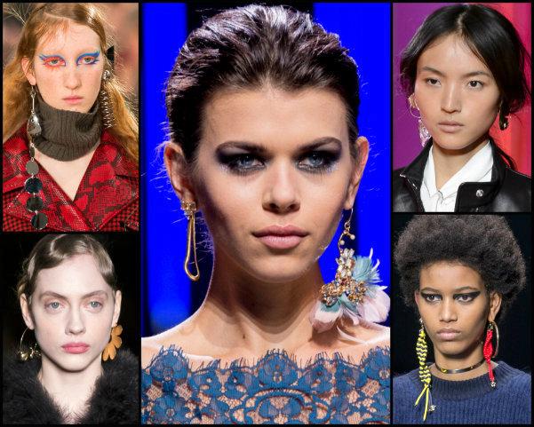 pendientes, earrings, joyas, tendencias, jewels, trends, fall 2017, joyas de tendencia, jewels trend