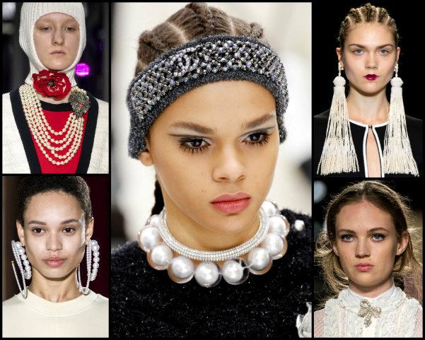 pearls, perlas, joyas, tendencias, jewels, trends, fall 2017, joyas de tendencia, jewels trend