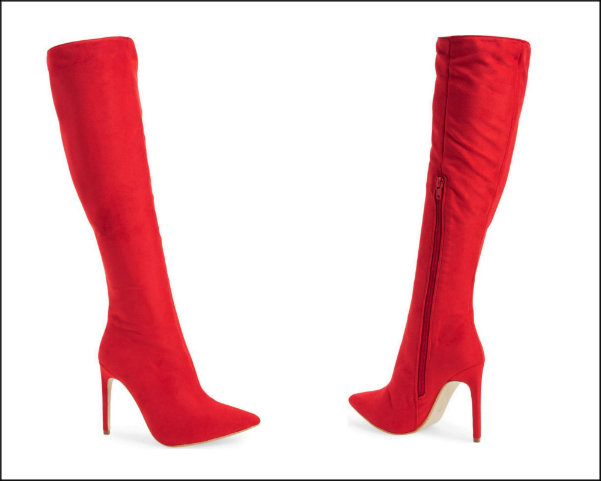 jeffrey campbell, red boots, botas rojas, shopping, trend