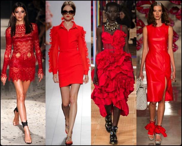 red dress, vestido rojo, trend, tendencia, spring 2018, verano 2018