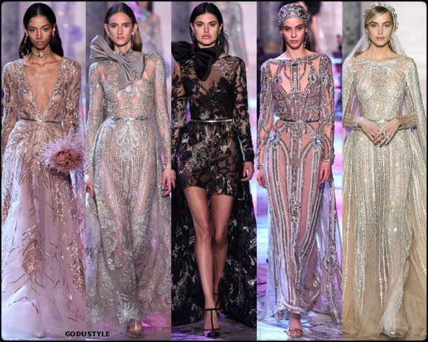 elie saab, couture, spring 2018, alta costura, verano 2018, looks, style, details, runways, fashion weeks