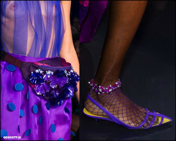 fashion, ultra violet, color, trend, 2018, pantone, looks, runway,  shoes, accessories, tendencias, color