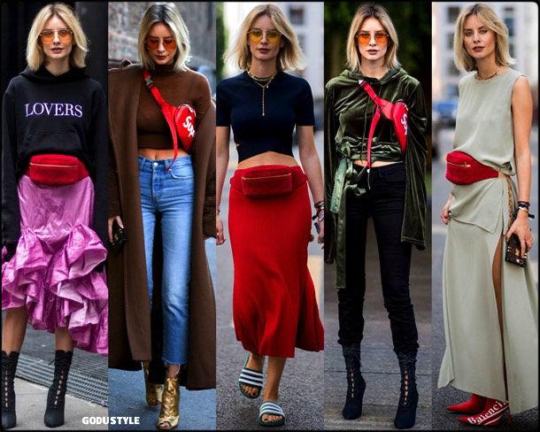 fanny pack, belt bag, riñonera, spring 2018, it bag, trend, lisa hahnbueck, looks, style, runway, streetstyle, shopping, tendencia, bolsos