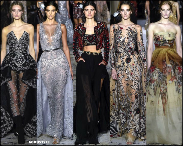 zuhair murad, couture, spring 2018, alta costura, verano 2018, looks, style, details, runways, fashion weeks