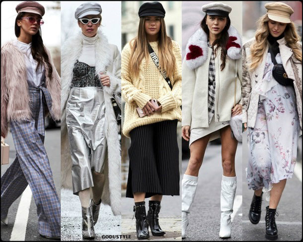 street style, trends, nyfw, fall 2018, baker boy, looks, otoño 2018, tendencias, invierno 2019, fashion