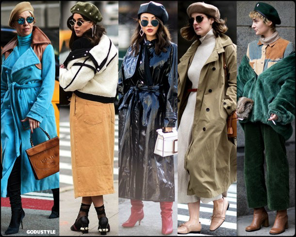 street style, trends, nyfw, fall 2018,beret, looks, otoño 2018, boina, tendencias, invierno 2019, fashion