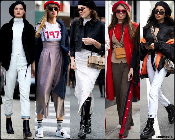 street style, trends, nyfw, fall 2018, beret, looks, otoño 2018, boina, tendencias, invierno 2019, fashion