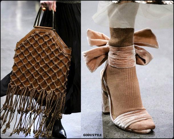 shoes, bag, fall 2018, zapatos, bolsos, invierno 2019, trends, tendencias, nyfw, velvet shoes, zapatos terciopelo