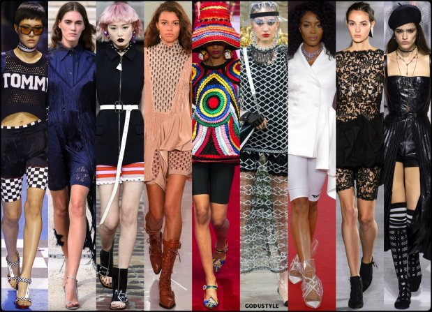 bike shorts, spring 2018, trends, pantalon ciclista, tendencias, shopping, verano 2018, looks, runways, style