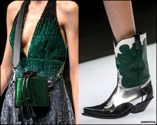 cowboy boots, zapatos, fall 2018, invierno 2019, trend, tendencia, mfw, looks, runway, style, details