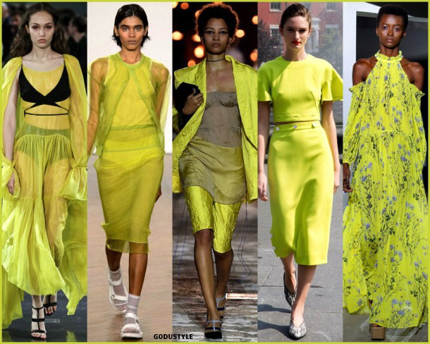 lime punch, colors, spring 2018, trends, colores, tendencias, verano 2018, looks, style, runways, details
