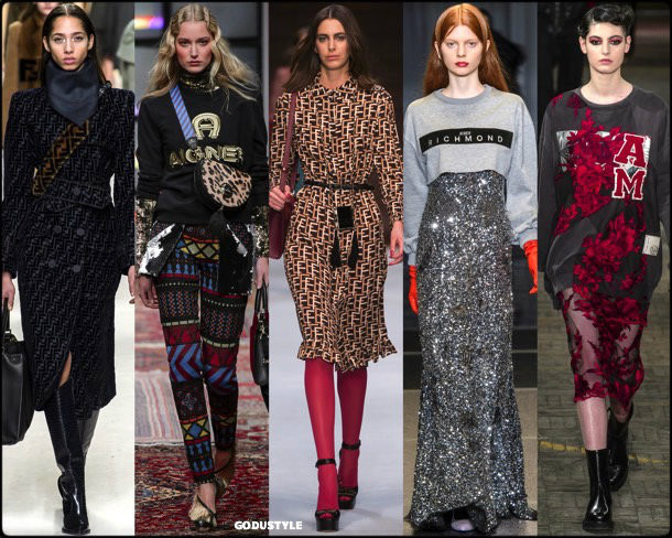 logos, fall 2018, invierno 2019, trend, tendencia, mfw, looks, runway, style, details, milan fashion week