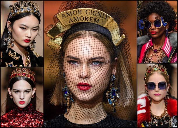messages, mensajes, fall 2018, invierno 2019, trend, tendencia, beauty, mfw, looks, runway, style, details