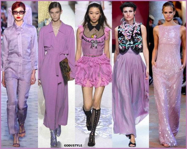 pink lavander, colors, spring 2018, trends, colores, tendencias, verano 2018, looks, style, runways, details