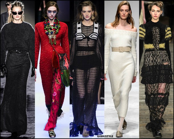 knitted, punto, fall 2018, invierno 2019, trend, tendencia, mfw, looks, runway, style, details, milan fashion week