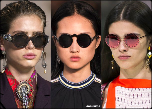 sunglasses, round frames, summer 2018, trends, gafas sol, verano 2018, tendencias, looks, style, shopping