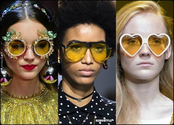 sunglasses, yellow lenses, summer 2018, trends, gafas sol, verano 2018, tendencias, looks, style, shopping