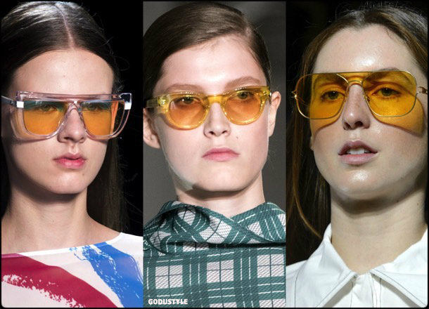 sunglasses, yellow lenses, summer 2018, trends, gafas sol, verano 2018, tendencias, looks, style, shopping