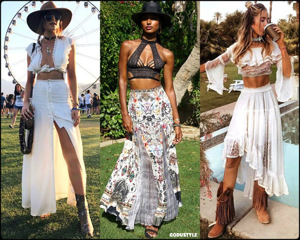 boho chic, looks, coachella, coachella 2018, trends, looks, style, tendencias, jasmine tookes, streetstyle