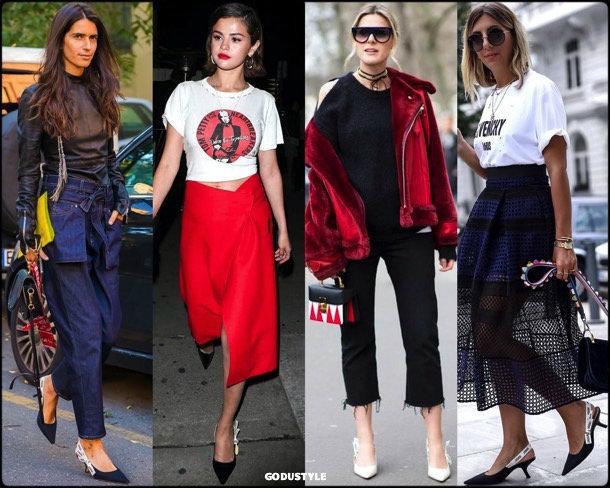 kitten heels, slingback, dior, spring 2018, trend, zapatos, tendencia, verano 2018, looks, streetstyle, shopping