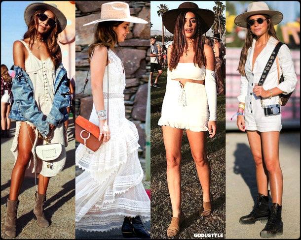 boho chic, looks, coachella, coachella 2018, trends, looks, style, tendencias, verano 2018, streetstyle, dulceida