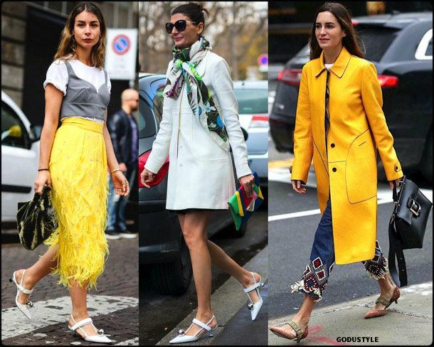 kitten heels, giovanna battaglia, spring 2018, trend, zapatos, tendencia, verano 2018, looks, streetstyle, shopping