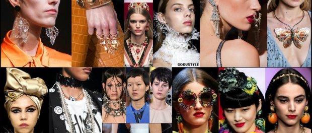 jewels, spring 2018, trends, joyas, tendencias, details, verano 2018, looks, runways, style