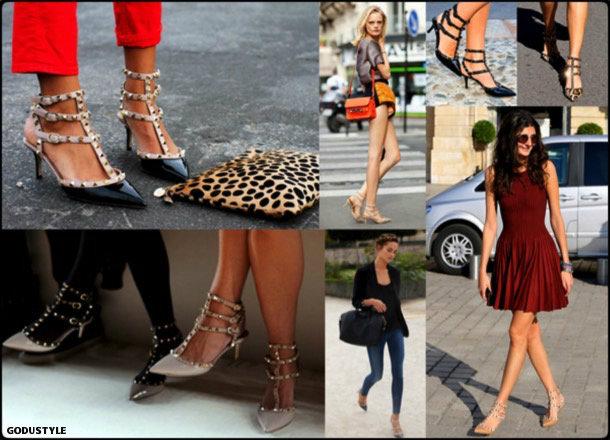 kitten heels, valentino, rockstud, spring 2018, trend, zapatos, tendencia, verano 2018, looks, streetstyle, shopping