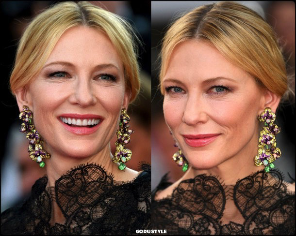 cate blanchett, fashion, looks, cannes 2018, style, armani prive, details, red carpets, celebrities, outfits