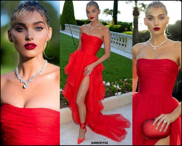 elsa-hosk-fashion-look-amfar-gala-cannes-2018-style-details-godustyle