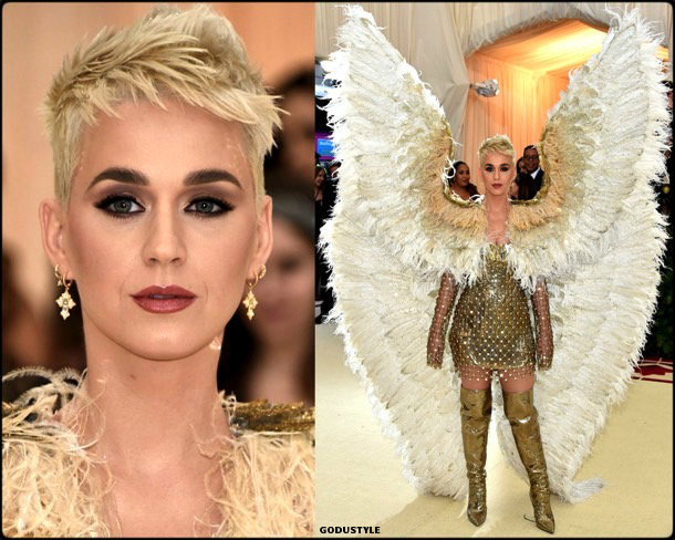 katy perry, met 2018, gala, fashion, celebrity, look, style, details, celebrities, outfits, red carpet