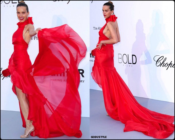 petra nemcova, fashion, looks, amfar, cannes 2018, style, party dresses, details, red carpets, celebrities, outfits