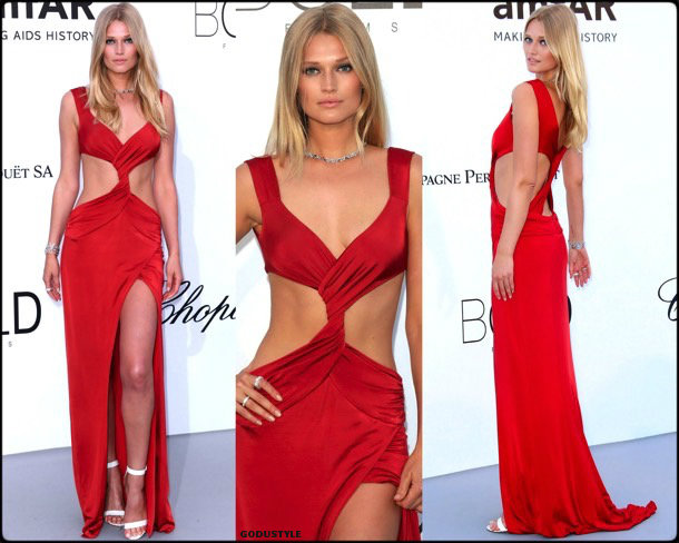 toni garrn, fashion, looks, amfar, cannes 2018, style, party dresses, details, red carpets, celebrities, outfits