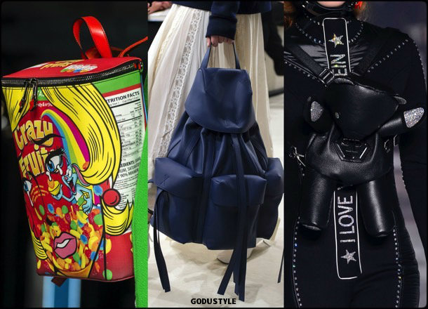 backpack, bags, shoes, fall 2018, trends, mfw, bolsos, zapatos, tendencia, invierno 2018, looks, details